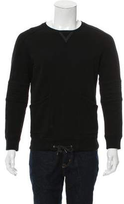 Helmut Lang Long Sleeve Crew Neck Sweatshirt