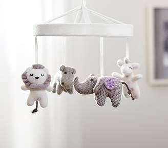 Pottery Barn Kids Knit Animal Friends Crib Mobile