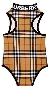 fd86baf13f8c6 Burberry Girls  Siera Vintage Check Swimsuit - Little Kid