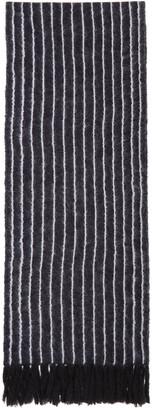 3.1 Phillip Lim Navy Pinstripe Scarf