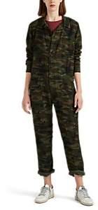 NSF Women's Dita Camouflage-Print Jumpsuit - Green