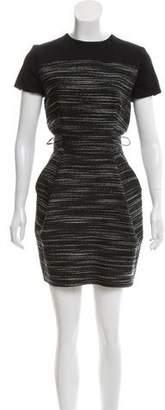 Martin Grant Short Sleeve Mini Dress