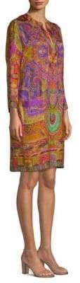 Etro 50th Anniversary Printed Tunic Dress