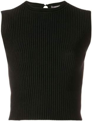 Alexander McQueen ribbed tank top
