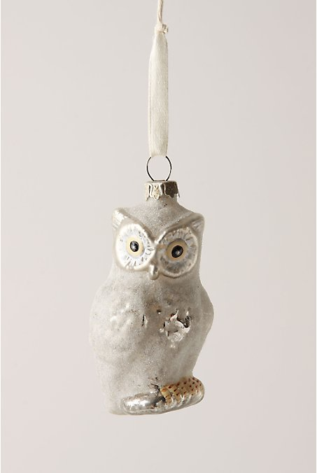 Chilly Hoot Ornament