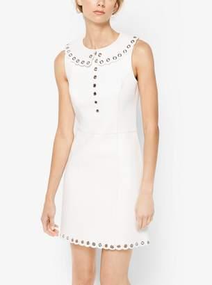 Michael Kors Grommeted Plonge Dress