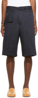 Jacquemus SSENSE Exclusive Navy Le Short Marin Shorts