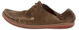 Casbia Suede Boat Shoes
