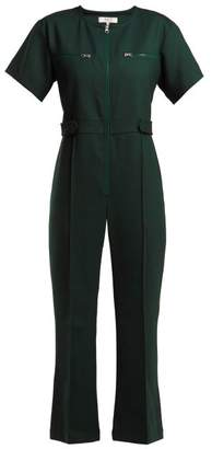 Sea Tradition Technical Fabric Jumpsuit - Womens - Dark Green