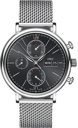 IWC IW391010 portofino milanese mesh watch