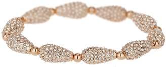 Mikey London Small Oval Crystal Bead Bracelet