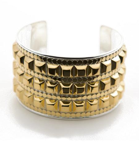Anna Beck Studded Gold Bold Cuff