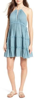 Women's Sun & Shadow Halter Dress $49 thestylecure.com