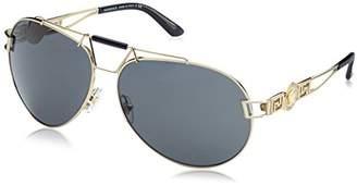 Versace Women's 0Ve2160 125287 Sunglasses,63