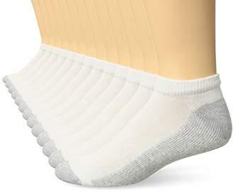 Hanes Men's Freshiq Low Cut Socks 13-Pack (Includes 1 Free Bonus Pair)