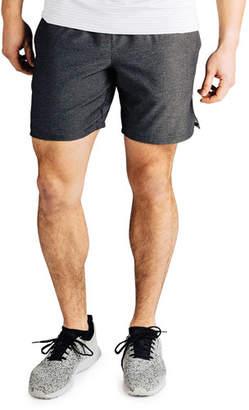 "Rhone Men's Guru 7"" Lined Active Shorts, Black"