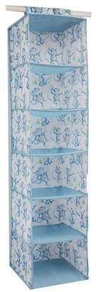 Laura Ashley 6 Shelf Hanging Organizer in Cheeky Monkey