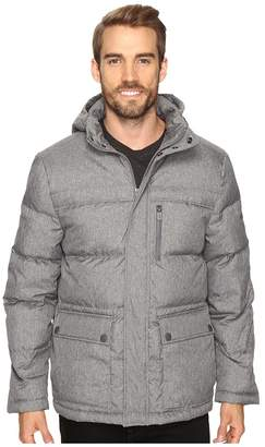Kenneth Cole New York Crosshatch Micropoly Jacket Men's Coat