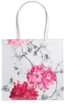 Ted Baker Large Babylon Floral-Print Shopper