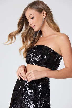 Na Kd Party Sequins Bandeau Top