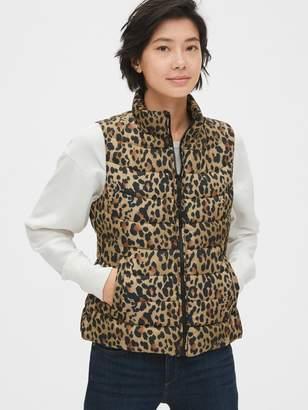 Gap ColdControl Lightweight Print Puffer Vest