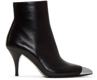 Calvin Klein Black Rosella Cap Toe Boots