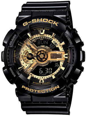 G-Shock Men Analog Digital Black Resin Strap Watch GA110GB-1A
