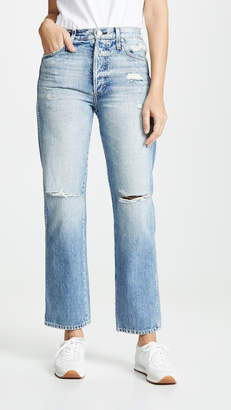 Amo Layla High Rise Straight Jeans