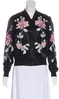 3x1 Floral Long Sleeve Jacket