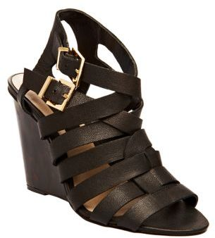 Steve Madden STEVEN BY Midori Leather Wedge Sandals