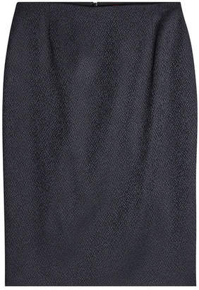 HUGO Textured Pencil Skirt