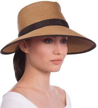 Eric Javits Luxury Fashion Designer Women's Headwear Hat - Sun Crest