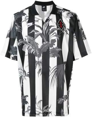 Nike striped palm football jersey