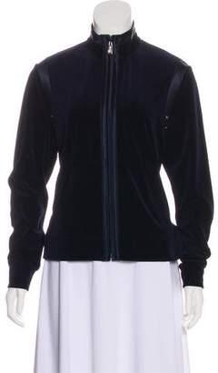 St. John Sport Velvet Casual Jacket