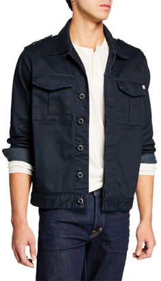 AG Adriano Goldschmied Men's Arrow Twill Jacket