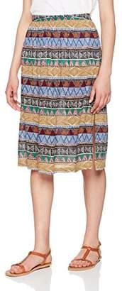Fat Face Women's Collier Tribal GEO Skirt