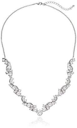 Nina Danesa Romantic Sweeping Cubic Zirconia Collar Necklace