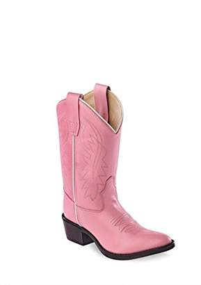 Old West Kids Boots Girl's J Toe Western Boot (Toddler/Little Kid) Boot