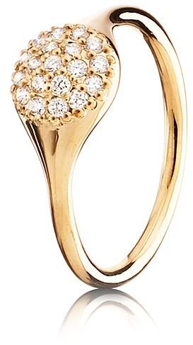 Pandora Design Ring - Diamond Pavé & 18K Gold Large Single Pod, .19 ct. t.w.