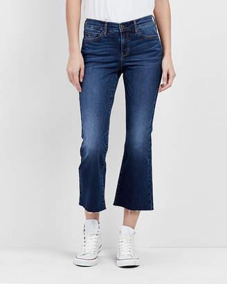 Nicole Miller Dakota Crop Flare Jeans