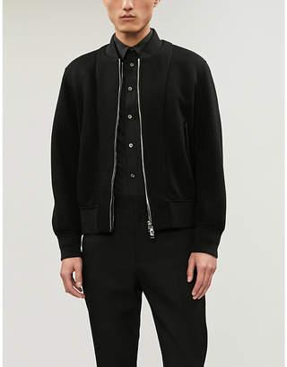 Alexander McQueen Buckle-trim slim-fit cotton-poplin shirt