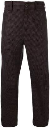 Damir Doma plaid slim-fit trousers
