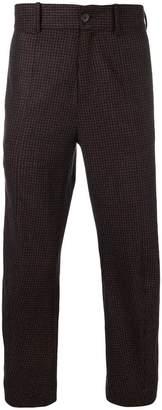 Damir Doma plaid slim-fit trousers