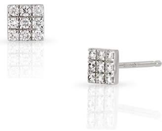 Bony Levy Kiera Square Diamond Stud Earrings