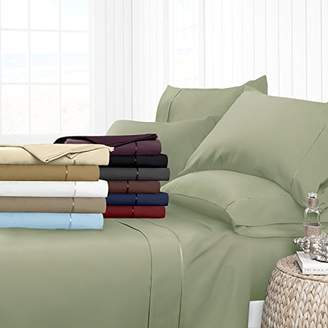 Hotel Collection Egyptian Luxury 4-Piece Bed Sheet Set - Deep Pockets