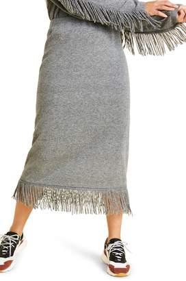 Marina Rinaldi Galateo Knit Midi Skirt