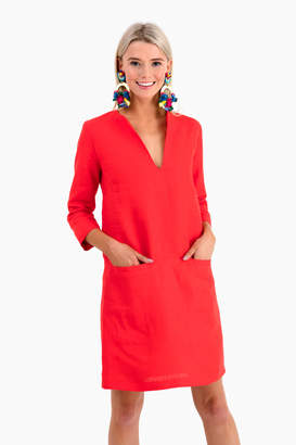 Americana Emerson Fry Red Mod Dress