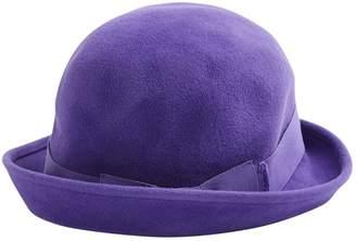 Marc Jacobs Purple Wool Hats