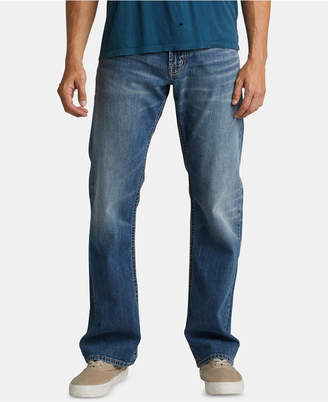 Silver Jeans Co. Men Zac Relaxed Straight-Fit Jeans