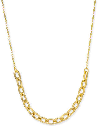 "Kate Spade Link Collar Necklace, 17"" + 3"" extender"